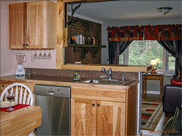 Mountain Ash Wet Bar