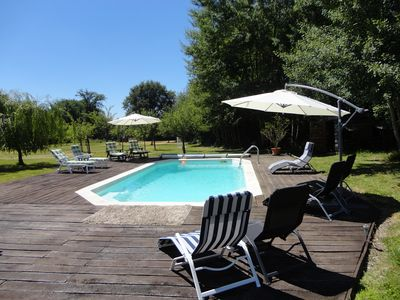 Traditional Five Bedroomed  Farmhouse With A Private Heated Pool, Tranquil Area