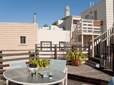 Coit Tower & The Roof Deck