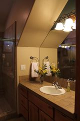 Prescott chalet photo - His & Her Sinks in Master Bath