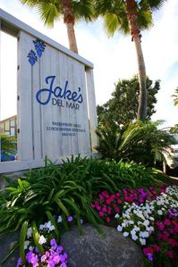 Jake's restaurant on the sand is located just outside of our gated community.