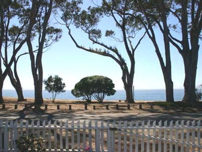 View of Monterey Bay from Carriage House front garden