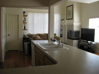 Open kitchen floorplan - Pacific Beach townhome vacation rental photo