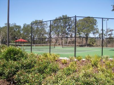 Floodlit Tennis/Basketball court