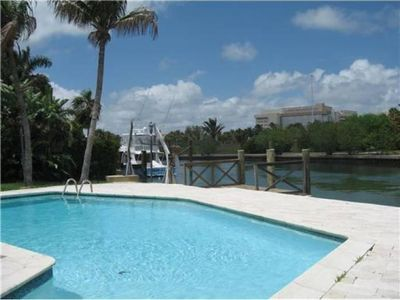 Miami Beach villa rental - Biscayne Bay is your back yard !!