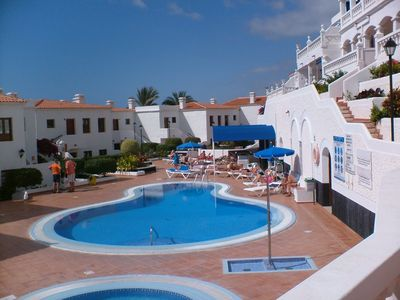 Los Cristianos apartment rental - second lovely pool