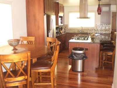 Pueblo house rental - Dining Room/ Kitchen