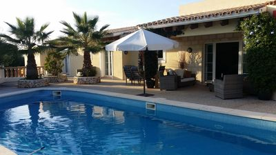 Villa With Very Large Private Pool, Sea Views From Terrace