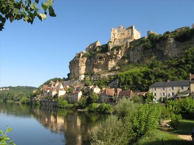 Spectacular Beynac village with its 12th Century Castle
