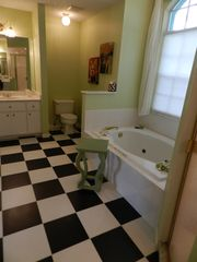Port Charlotte villa photo - Master Bath with Bathtub and his and her Sink