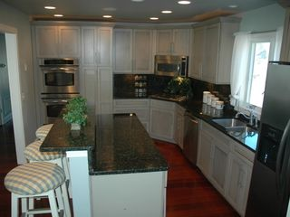 Cape Charles estate photo - Large, fully-equipped kitchen.
