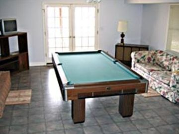 Downstairs Recreation Room - Opens onto Patio