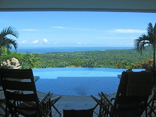 Nosara villa photo - View of Playa Guiones from the great room