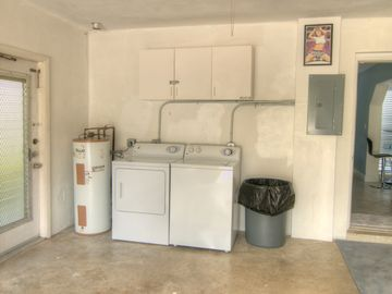 Laundry Facilities Are An Important Feature For Many Guests