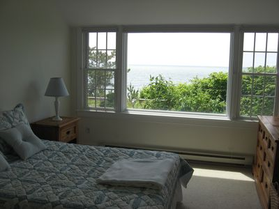 Harwich - Harwichport house rental - One of the two bedrooms in the west wing of the house. This one faces the beach.