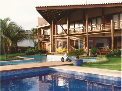 Paradise house in front of the beach of Cumbuco
