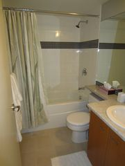 Victoria property rental photo - Bathroom with Fine Quality Towels