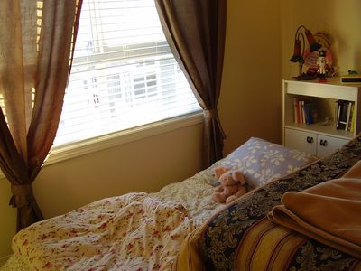 Calgary townhome rental - Additional mattress can be added to either bedroom upon request.