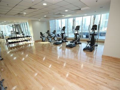 Dubai Marina & Al Sufouh apartment rental - The gym