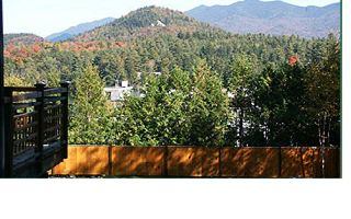 Lake Placid house photo - View front Spa Deck