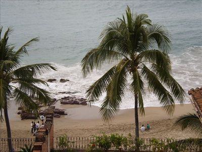 View of Beach-Playa De Los Muertos-from Condominium