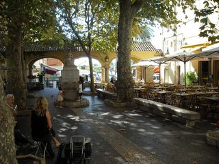 Menton house photo - One charming little provincial square