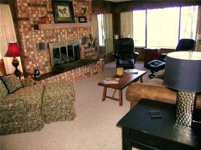 Beaver Lake house rental - Living Room