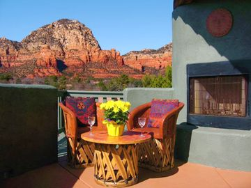 Sedona house rental - Gorgeous Red Rock Patio Views--Absolutely Stunning!!!