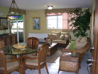 Vega Baja condo photo - Living room dining room
