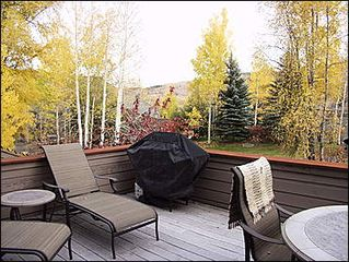 Snowmass Village townhome photo - 2nd Outdoor Deck