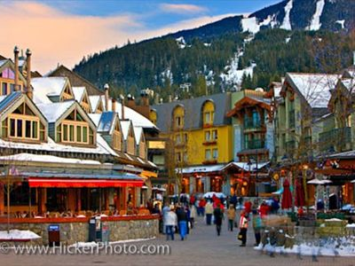 Whistler Village is right at your door step