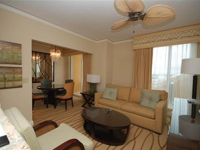 Key Biscayne hotel rental - Living room