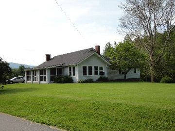 Waynesville house rental - House, screened in porch, award-winning sycamore tree.