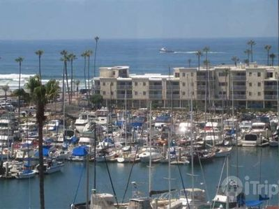 Oceanside condo rental - Views of the harbor