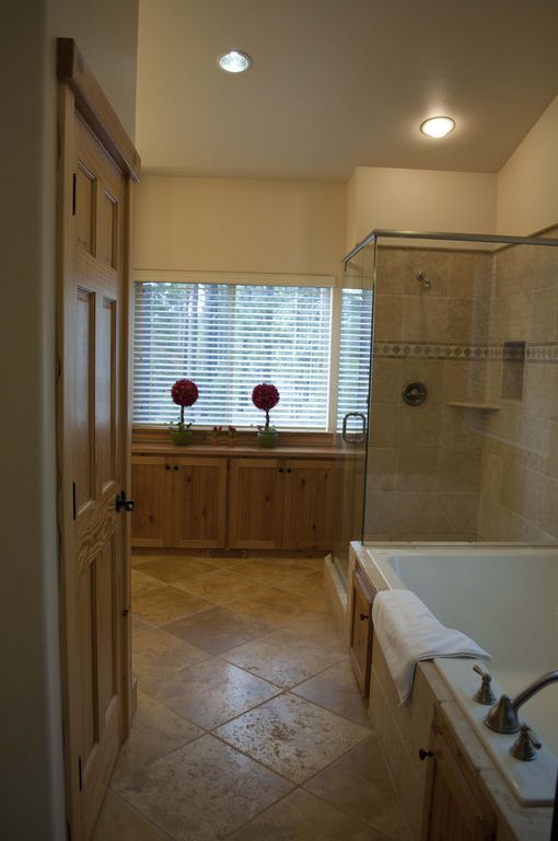 Jacuzzi and Shower in the Master Bedroom