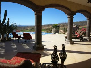 San Jose del Cabo house photo - Relax by the pool under the covered area