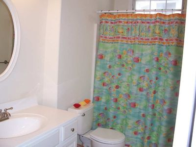 Boardwalk condo rental - Hall Bath with Tub Shower, Ocean City, NJ