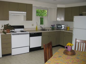 Clean and Well-Equipped Kitchen