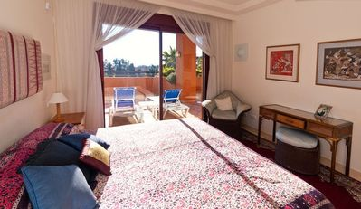Los Monteros apartment rental - Direct access to terrace from Master Bedroom
