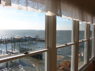 View from upstairs livingroom - Holgate house vacation rental photo