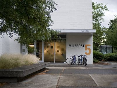 Take in the local art and theater scene at nearby Milepost 5