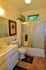 Poipu house photo - 2 Bathrooms, almost identical, Tub/Shower, bathroom amenities. Great Towels