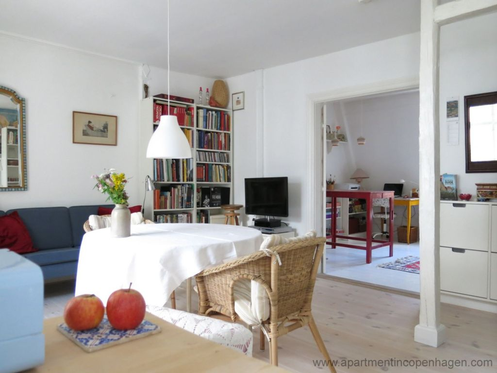 City Apartment in Copenhagen with 2 bedrooms sleeps 3