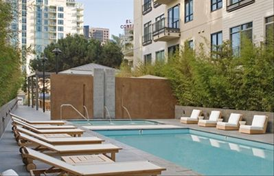 San Diego condo rental - Bliss out at our Zen Pool