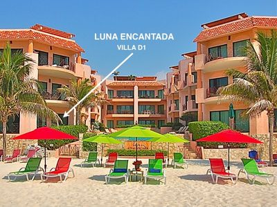 Luna Encantada Villa D1 is one of the most popular  Beachfront rentals in Playa.
