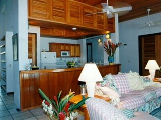 Ambergris Caye house photo - Living Area & Kitchen