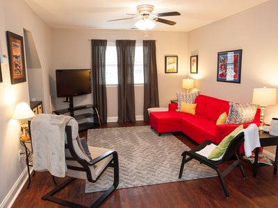 Clean, Convenient, Private, Close to many area attractions- racing, shopping