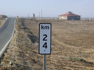 San Quintin house photo - The marker for the turn off from Hwy 1. 18 miles south of San Quintin