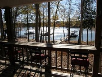 Lake Eufaula / Walter F. George house rental - View from Back Porch