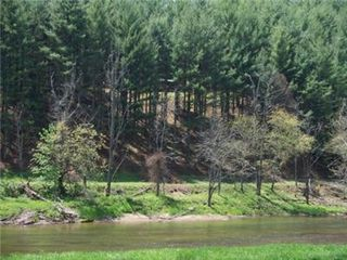 West Jefferson cabin photo - River frontage